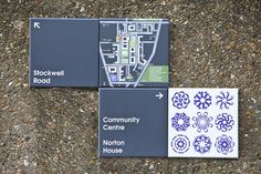 Creative Review Local artists help make signage for Stockwell Park #graphic design #signs