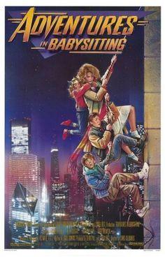 Adventures in Babysitting Poster - Internet Movie Poster Awards Gallery #movie #babysitting #in #adventures #80s #poster