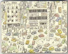 Drawings by Mattias Adolfsson