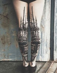 50+ AMAZING CALF TATTOOS