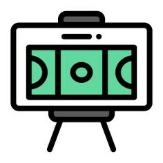 See more icon inspiration related to soccer, plan, board, , , tactics, play football, football positions, football team, sketches, game plan, football players, football game, planning, strategy, sportive, position, sketch, team, sport, football and game on Flaticon.