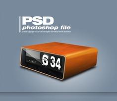 Retro clock psd Free Psd. See more inspiration related to Clock, Retro, Psd and Horizontal on Freepik.