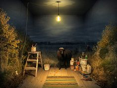 Erik Johansson's Highly Fictionalized Photo Illustrations | Hi-Fructose Magazine #illustration
