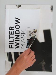Filter, Window, Mask : soleneleblanc #design #graphic