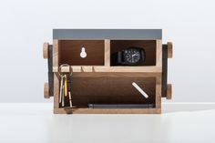 Ðœultifunctional transforming organizer wire cable holder pencil desk wood wooden minimal scandinavian designer beauty beautiful modern simp