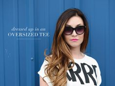 West End Girl Blog | BLOG | Designer of all things lovely #pink #sunglasses #graphic #tee #fashion #lipstick #typography
