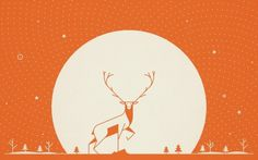 Made in England #bright #desktop #background #make #in #cookie #stag #illustration #england #winter
