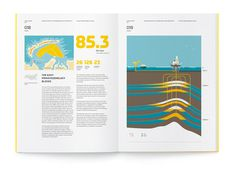 """Rosneft"", Annual Report 2011 on Behance #illustration #book #brochure #report"