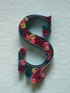 paper+ typography on the Behance Network #letter #paper #typography