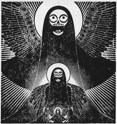 #death #illustration #print
