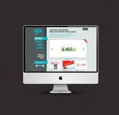Alessandro Giammaria Personal Portfolio on the Behance Network #designer #freelance #portfolio #webdesing #web