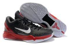 Kobe 7 (VII) Black Silver Red Nike Mens Size Shoes #shoes