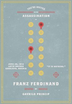Invitation To An Assassination #assassination #ferdinand #franz #invitation