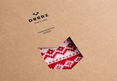 Deerz | Дизайн студия Эскимо #logo #branding #packaging #fashion