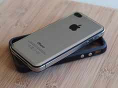 Add a Metal Back to Your iPhone 4 ($1-20) — Svpply #metal #iphone #classic