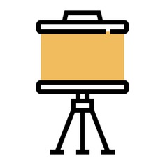 See more icon inspiration related to board, whiteboard, projection screen, projection, educational, education, tools, screen, tool and school on Flaticon.
