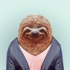 Fashion Zoo Animals24 #totem