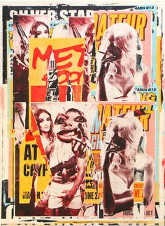 Charlie Anderson | PICDIT #painting #collage #art
