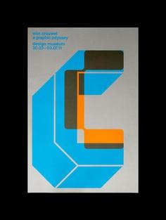 Wim Crouwel Ex Hibition Poster Spinstudio 001