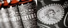 Graphic-ExchanGE - a selection of graphic projects #flourish #packaging #design #cocktail #mixer