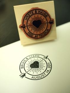 thequietsociety.com/blog | The Creative Work of Brian Hurst #wedding #stamp #design #graphic