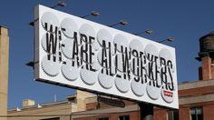 Featured Work | Sagmeister Inc. #typography #levis #advertising #cog #signage #sagmeister