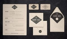 Naomie Ross | Lovely Stationery #logo #promotion #design #identity