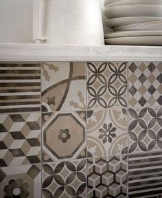 Block Ceramic Tiles With Matt Effect