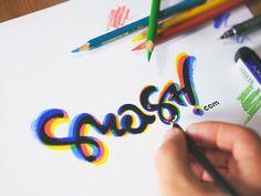 smash.com logo #logo #word #lettering #script