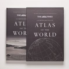 Best Made Company — The Times Atlas of the World #atlas #travel #book