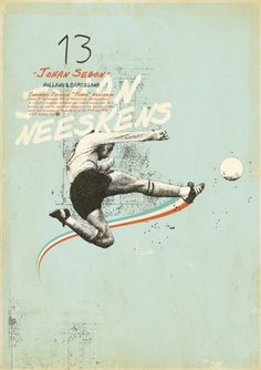 Sucker for Soccer on the Behance Network #print #type #poster #football