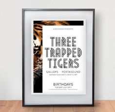 Three Trapped Tigers - James Kirkups portfolio