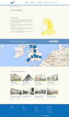 UPP Corporate responsive website design