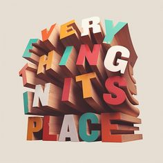 type #wood #color #typography