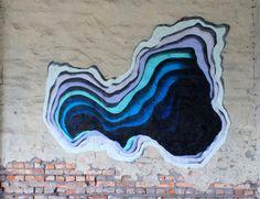 1010-5 #1010 #mural #illusion #portal #colour