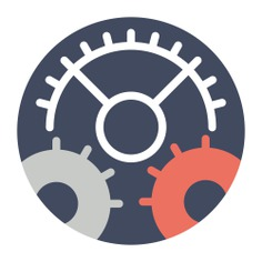 See more icon inspiration related to gear, cogwheel, settings, configuration and Tools and utensils on Flaticon.