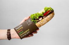 Reitan by BVD #sandwich #packaging #eleven #minimal #seven #typography