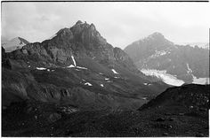 Athabasca Glacier Area | Flickr - Photo Sharing! #dave #hill #photography #film #bw
