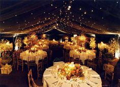 Outdoor Tenting Decoration for Wedding reception #reception #wedding #decorations