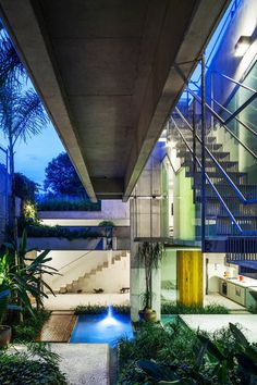 Concrete Weekend House