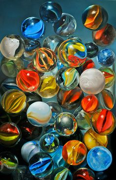 PATTERNITY_MARBLECLUSTER_Tjalf Sparnaay #marbles