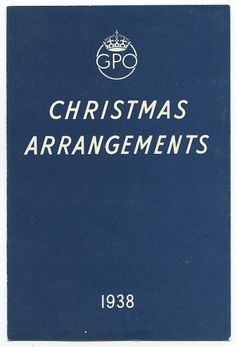 Wallace Henning - Notes #british #print #design #graphic #english #christmas #gpo #arrangements