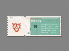 Zoo ticket #ticket #zoo #editorial #bratus #vietnam #jimmituan