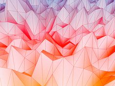 fractal generative field #dribbble #field #generative #fractal #geometric #processing #wallpaper