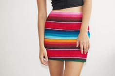 diy mexican rug skirt 14