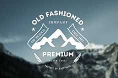 Old Fashion company #logo design #badge #vintage
