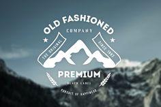 Old Fashion company #logo design #badge #vintage