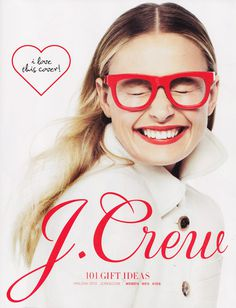 The Typofiles: J. Crew Holiday Catalog #magazines #print
