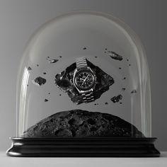 Globes Omega #watch #photography #cgi