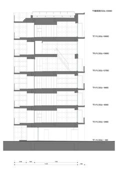 Apartment in Katayama ~ Elevation, Section and Floor Plans – WHAT WE DO IS SECRET
